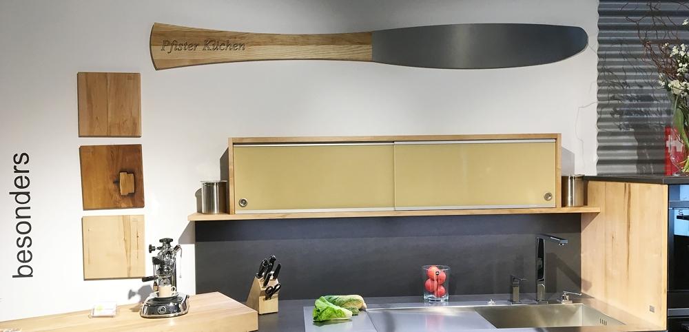 Massivholzküchen Messerscharf geplant