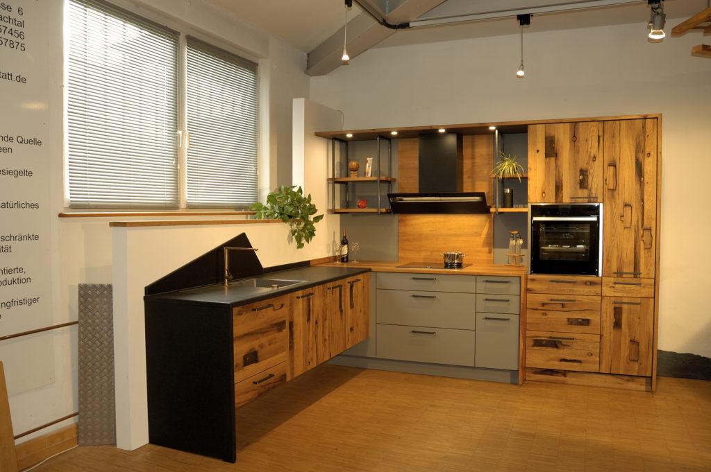 Altholzküche perfect harmony