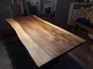 Tischplatte Nussbaum aus einem Stück